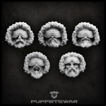 Arctic troopers heads