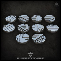 Alpha Sector Bases - Round 25mm (x10)
