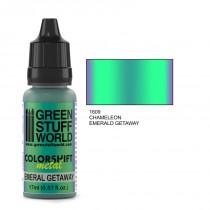 Chameleon Emerald Getaway Paint
