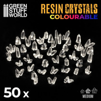CLEAR Resin Crystals - Medium