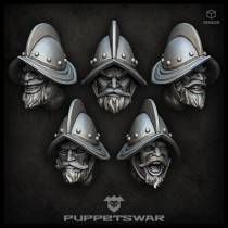 Conquista Troopers Heads