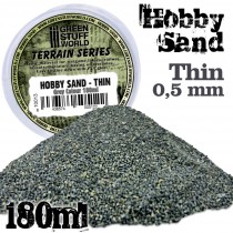 Fine Hobby Sand 180ml - Grey