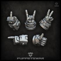 Hand gestures (left)