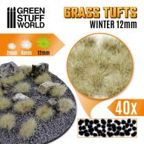 Grass TUFTS - 12mm self-adhesive - WINTER