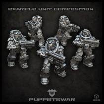 Prime Gunners Unit Configurator
