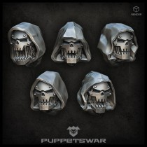 Hooded Iron Mutants Heads