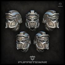 Masked Legionnaire helmets