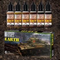 Liquid Pigments Set - Earth