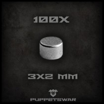 Magnets 3x2mm (100x)