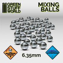 Mixing Paint Steel Bearing Balls - Small