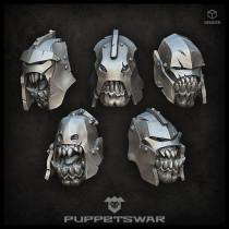 Siege Orcs Heads