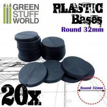 Plastic Bases - Round 32mm