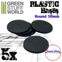 Plastic Bases - Round 50 mm