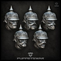 Prussian Troopers Heads