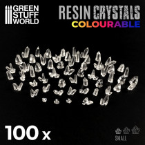 CLEAR Resin Crystals - Small