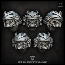 Samurai Reapers helmets
