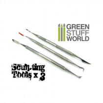 3x Sculpting Tools