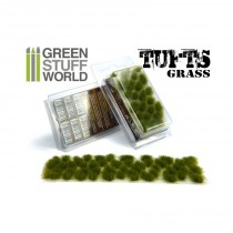 Grass TUFTS - 6mm self-adhesive - DRY GREEN