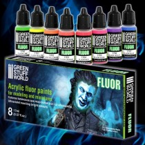 Fluor Paints Set