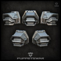 H.I. Commander shoulder pads (pre-order)