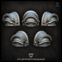 Praetorian shoulder pads (pre-order)