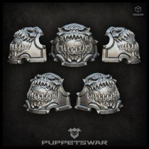 H.I. Planet devourer shoulder pads (pre-order)