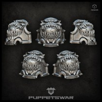 Planet devourer shoulder pads (pre-order)