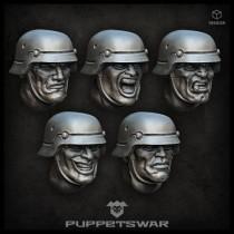 Sturmpioniere heads