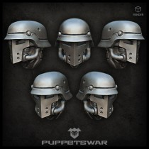 Sturmpioniere Knight Heads
