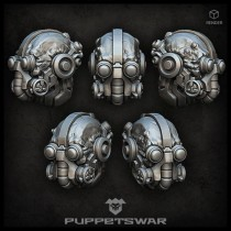 Tech Warrior Heads