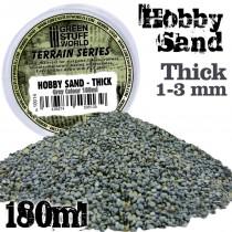 Thick Hobby Sand 180ml - Grey