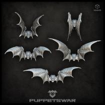 Bat wing-packs